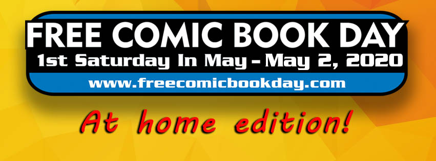 Heroes' Beacon Stay Home Comic Day
